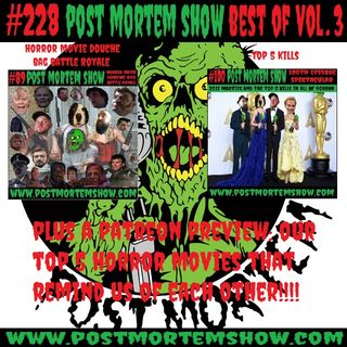e228 - Best of Post Mortem VOL. 3