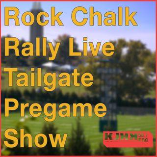 Arman Alhosseini's Rock Chalk Rally Live Tailgate Pregame Show