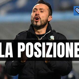 Casi Covid nell'Inter, ecco qual è la posizione del Sassuolo
