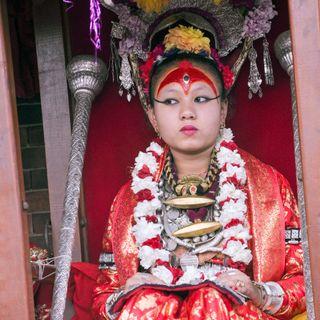 La dea bambina di Kathmandu