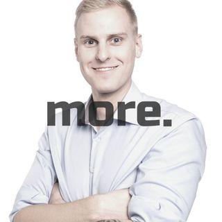 more. than training ep.9 - Michał Undra o biohackingu, dopingu mózgu i najbardziej męskim hormonie.