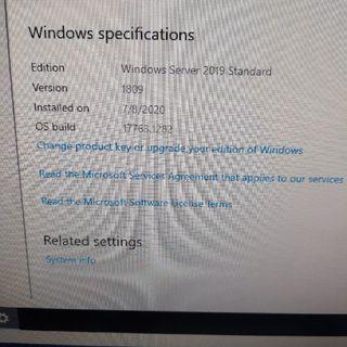 Windows Server 2019, Change Product Key Does Nothing