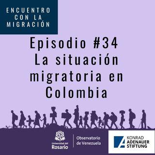 Situación migratoria en Colombia