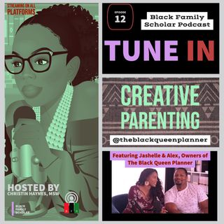 """A Queen is Organized"" Creative Parenting with The Black Queen Planner"