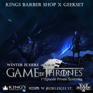 Geekset Game Of Thrones LIVE