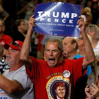 Trump Supporter Says Their Will Be A Civil War In America #Impeachment