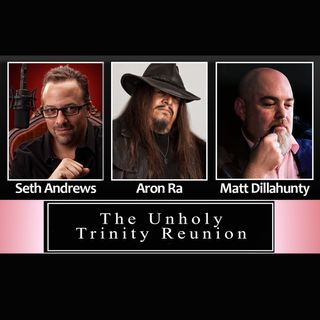 The Unholy Trinity Reunion Tour 2020 (with Seth Andrews, Aron Ra, and Matt Dillahunty)
