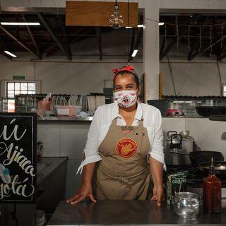 La perseverancia: así es la gastronomía colombiana en una plaza de mercado