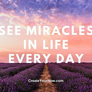 2288 See Miracles in Life Every Day
