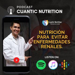 Nutrición para evitar enfermedades renales