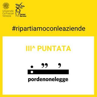 #ripartiamocon: Pordenonelegge