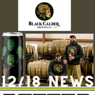 Better on Draft News (12/18/20) - Black Calder and Beer Cup Winners