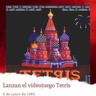 6 de junio de 1984. Lanzan el videojuego Tetris