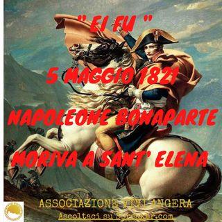 La liberté Napoleone 5 maggio 1821( Legge Laura)