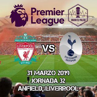 Liverpool vs Tottenham Hotspur en VIVO