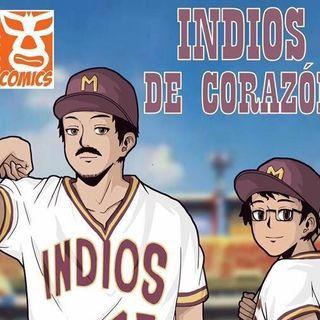 Entrevista con Roberto Mercado, creador del comic de beisbol: Indios de Corazon