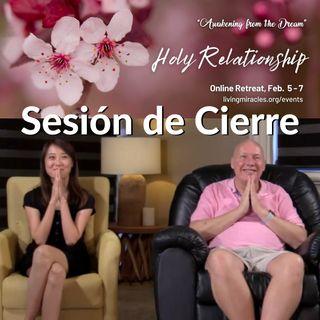 """Retiro en línea """"Relación Santa"""": Sesión de cierre con David Hoffmeister y Frances Xu"""