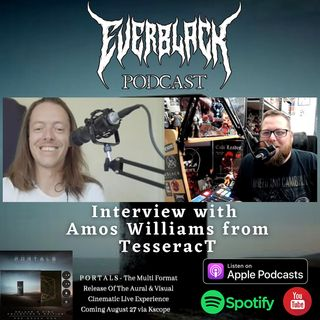 Amos Williams from TesseracT talks 'Portals' LCE, future releases, Marvel, Kevin Smith MOTU & more!