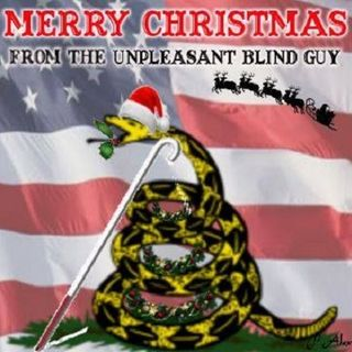 The Unpleasant Blind Guy  12/17/16 - 2016 Christmas Tree