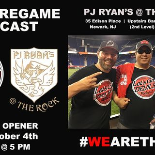 PJ Ryan's @ The Rock: Come Watch A Live Pregame Podcast (10/4)