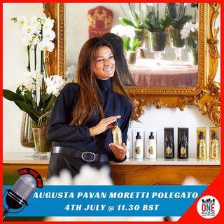 Augusta Pavan, ideatrice della nuova linea di cosmetici targata Villa Sandi