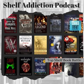 July Top Shelf Book Battle: Who's the Best Literary Vampire?