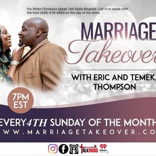 "Marriage Takeover The Body of One with Eric and Temeka: ""Contract vs Covenant"""