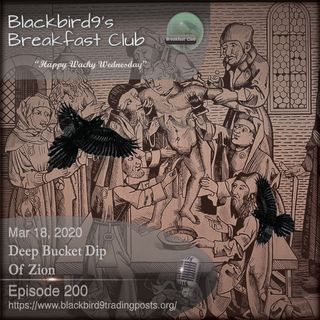 Deep Bucket Dip Of Zion - Blackbird9 Podcast