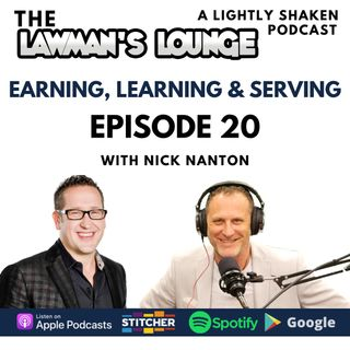 Earning Learning & Serving with Nick Nanton