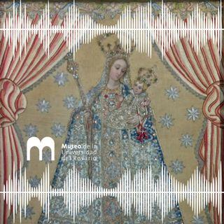 La Virgen de Bordadita, símbolos de la Universidad del Rosario