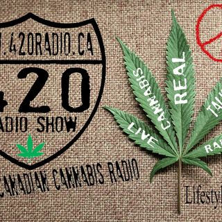 The 420 Radio Show with guest Dr. Robert Melamede LIVE on 420radio.ca On-Air pRT 1