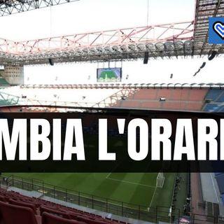 Pericolo assembramenti, cambia l'orario di Inter-Sampdoria?