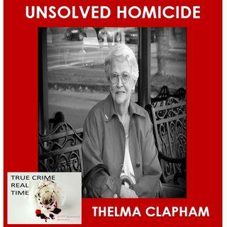 #13 - Blood Runs Cold - Thelma Clapham