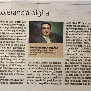 Intolerancia digital