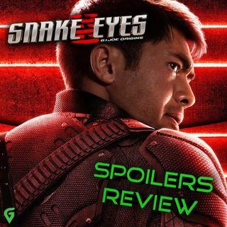 Snake Eyes - G.I. Joe Origins Spoilers Review