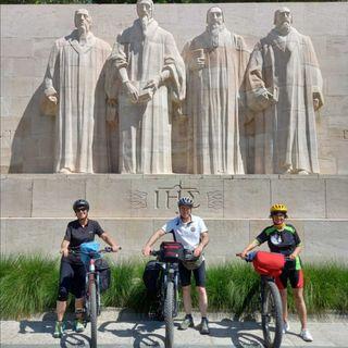 Esilio dei valdesi da Saluzzo a Ginevra in bicicletta