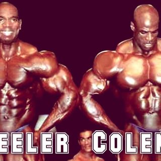 Flex Wheeler On Ronnie Coleman