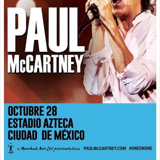 Concierto Paul McCartney CDMX 28 oct17 Estadio Azteca Parte 1