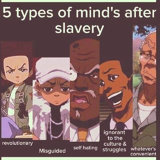 The Mindsets Of Black People After Slavery