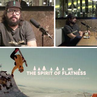 Snowboard Wolność Finlandia Reżyser i producent Paweł Jaworski w RF Podcast The Spirit of Flatness