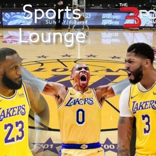 The 3 Point Conversion Sports Lounge - Will Russ Work In L.A., NBA Draft Outlook, Simone Biles Mistreated, NFL Is Back, MLB Best Trades