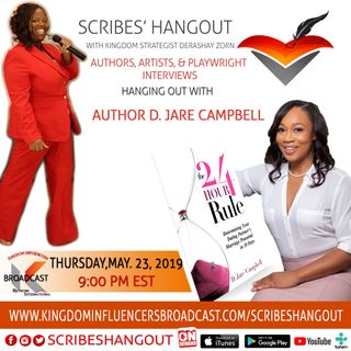 Scribes Hangout Welcomes AuthorD Jare Campbell