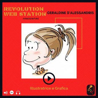 INTERVISTA GERALDINE D'ALESSANDRIS - ILLUSTRATRICE E GRAFICA