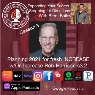 Planning 2021 for fresh increase w/Bob Harrison s3.2