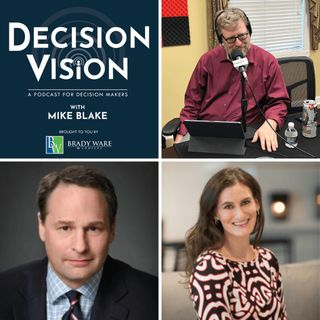 Decision Vision Episode 57, How Do I Secure Data for Work at Home Employees? – An Interview with Justin Daniels, Baker Donelson, and Jodi Da