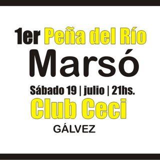 Nota Sobre La Peña Del Río Marsó