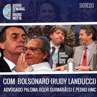 DS_S01E20 - 20 de dezembro - BOLSONARO, ADV PALOMA E PEDRO HMC