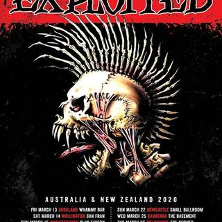THE EXPLOITED Celebrate 40 Years Of Chaos