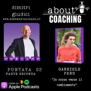 """Gabriele Pero """"In corsa verso il cambiamento"""" parte 2"""