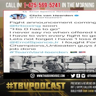 "☎️Terence Crawford vs Chris Van Heerden in South Africa😱""His 0 Has to Go""❗️"